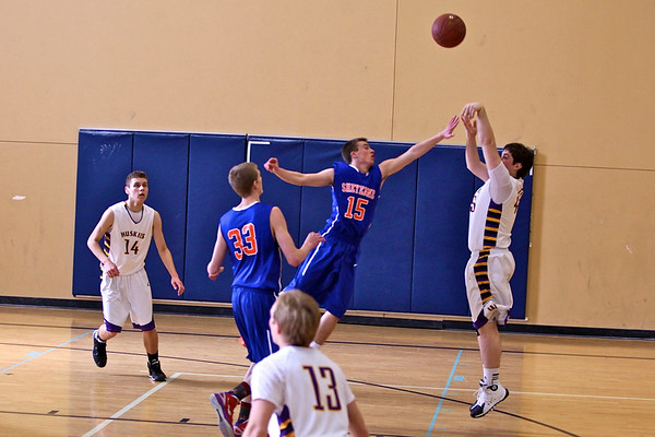 Boys BB  JV at Sheyenne,  Feb 22,2014