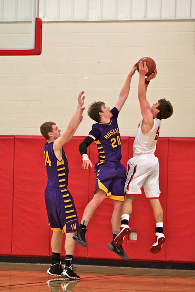 Boys BB at Shanley, Feb 21,2014