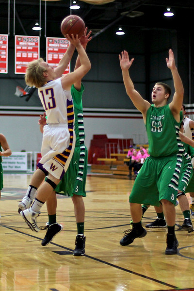 Boys BB vs Breck, Dec 14, 2013