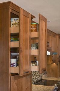 upper pantry open