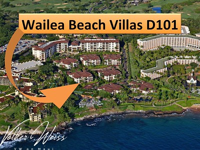 Wailea Beach Villas D101, Wailea, Maui, Hawaii. Wailea Real Estate and Wailea Condos, together with the Wailea Beach Villas in South Maui are viewed best at VWonMaui.