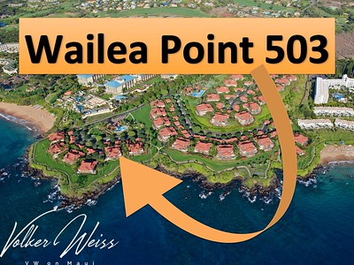 Wailea Point 503, Wailea, Maui, Hawaii. Wailea Real Estate and Wailea Condos, including Wailea Point in South Maui are viewed best at VWonMaui, a partner of the famous 1MauiRealEstate.com project.