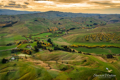 The rural heartland of the Wairarapa somewhere between Riversdale and Masterton. You simply dont realisse how vast it is until you see a view like this.