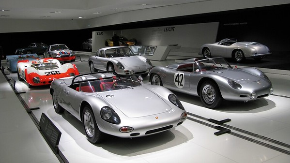 Take a Virtual Tour of the Porsche Museum