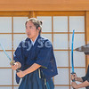 Actor with Sword, Gold Hill Samurai Play
