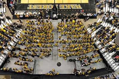 Student section overhead shot lo res