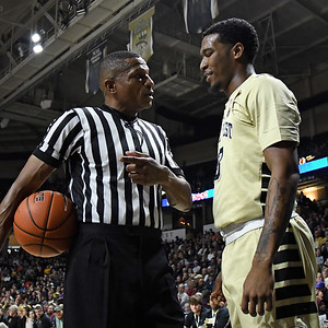 Ref talks to Bryant Crawford