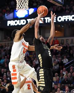 Donovan shot under basket