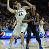 Dinos Mitoglou fights for rebound position