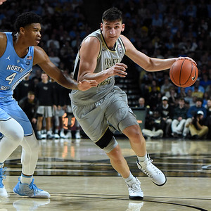 Dino Mitoglou drive from top of key