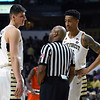 Dinos Mitoglou & John Collins chat with ref