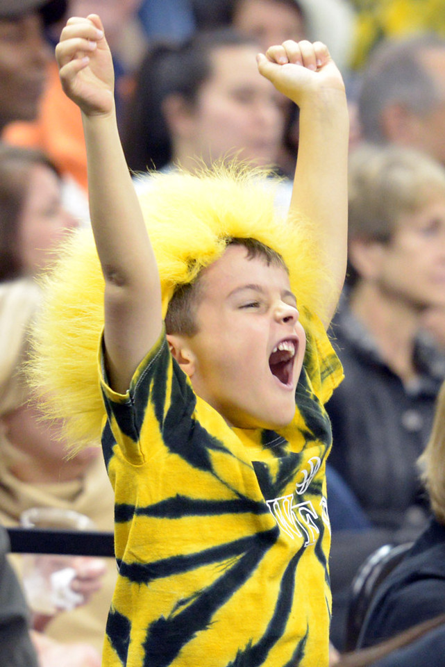 Little Deacon fan celebrates