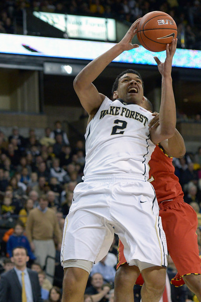 Devin thomas fouled while shooting