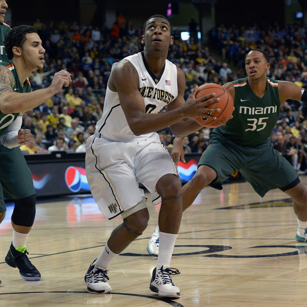 Codi Miller McIntyre looks to shoot under basket