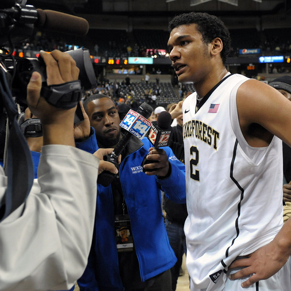 Devin Thomas postgame interview