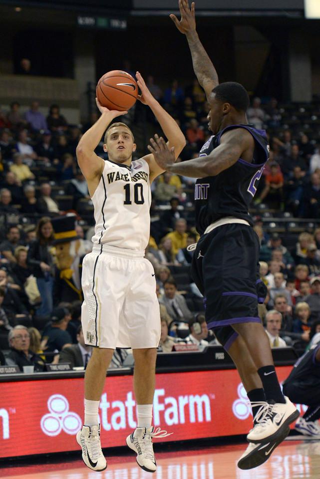 Chase Fischer 3 point shot