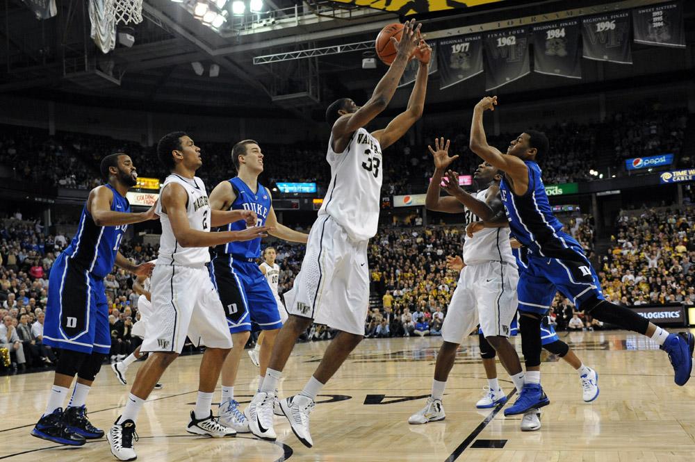 Aaron Rountree rebound
