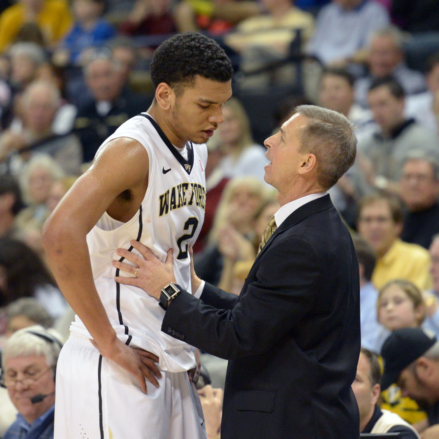 Coach Bzdelik & Devin Thomas