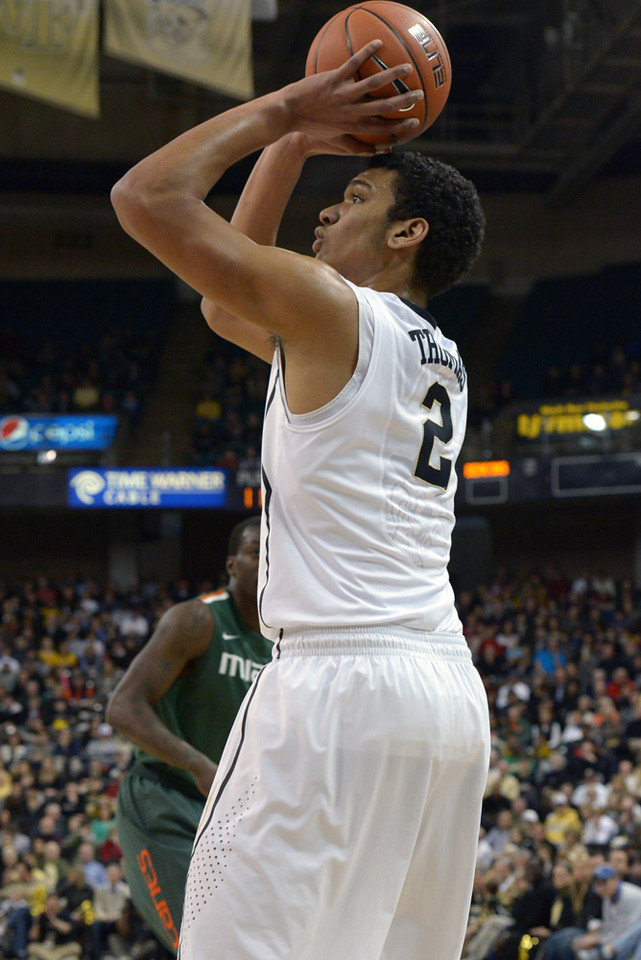 Devin Thomas jumper from side