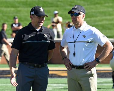 Coach Clawson & Army head coach Monken
