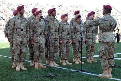 82nd Airborne choir national anthem