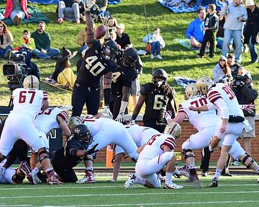 Deacon defense attempts PAT block