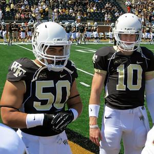 Nikita Whitlock & Tanner Price game captains