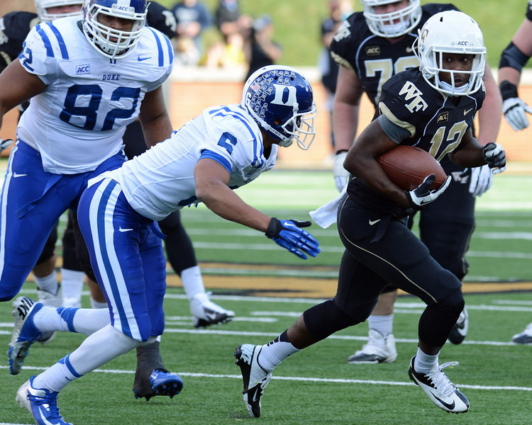 Tyree Harris catch and run