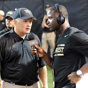 Alphonso Smith interview Coach Grobe half