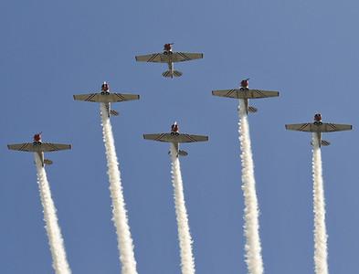 Geico Skywriters