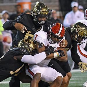 Deacon defense stops N Hines