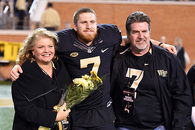 Mike Weaver senior day