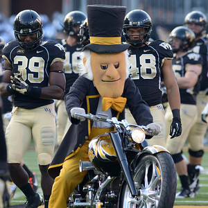 Demon Deacon motorcycle