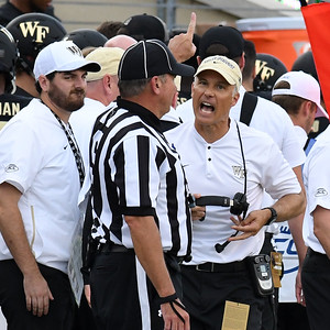 Coach Clawson upset with ref Dortch non call