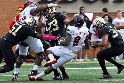 Deacon defense stops Lamar Jackson