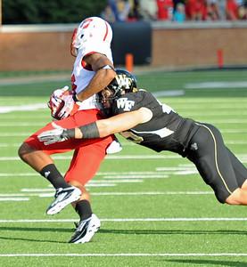 Riley Haynes tackles Smith