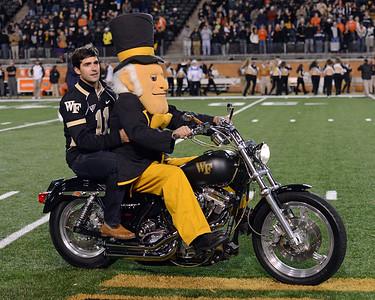Riley Skinner on motorcycle
