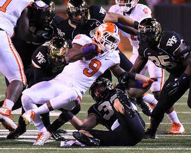 Defense tackles W Gallman
