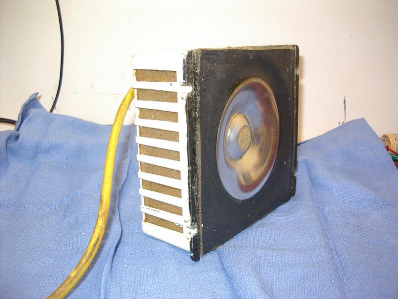 Jordan Watts Mk II Modular aluminum cone loudspeaker.