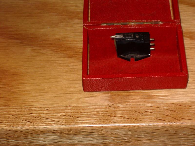 Ortofon SL 15/E moving coil cartridge.  Purchased around 1968