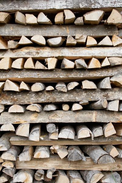-- Image by © Aram Radomski/Berlintapete 600-03644963 © photo division Model Release: No Property Release: No Stacks of Wood, Brienz, Interlaken-Oberhasli, Canton of Berne, Switzerland