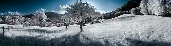 Landscape in winter --- Image by © Ray Tracing/Corbis