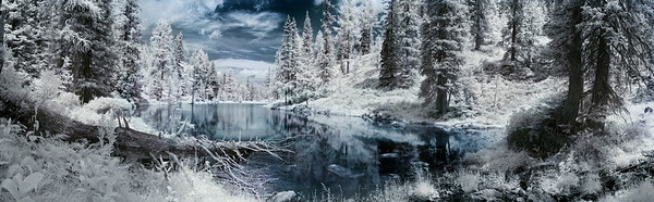 Wilderness area in winter --- Image by © Ray Tracing/Corbis