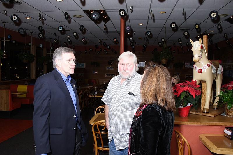 Ken Howe, Terry Kephart, Kaye Federline