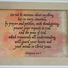 This was in my room (Room #1) at the Hall of Residence, Bible College of Wales, Swansea