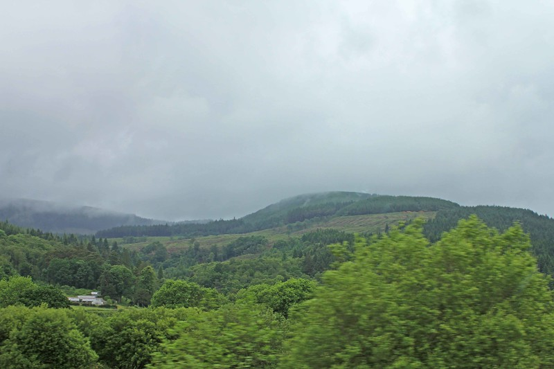 (A465?) En route to Big Pit Mining Museum from the Bible College of Wales