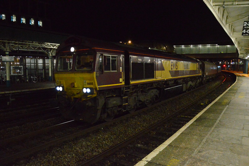 66100 6E09 Margam - Immingham, Newport 28/12/2017