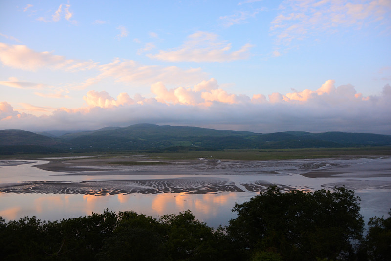 Dyfi estuary with Ynys Hir in background