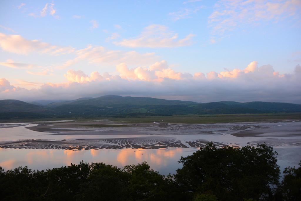 Dyfi estuary with Ynys Hir in background