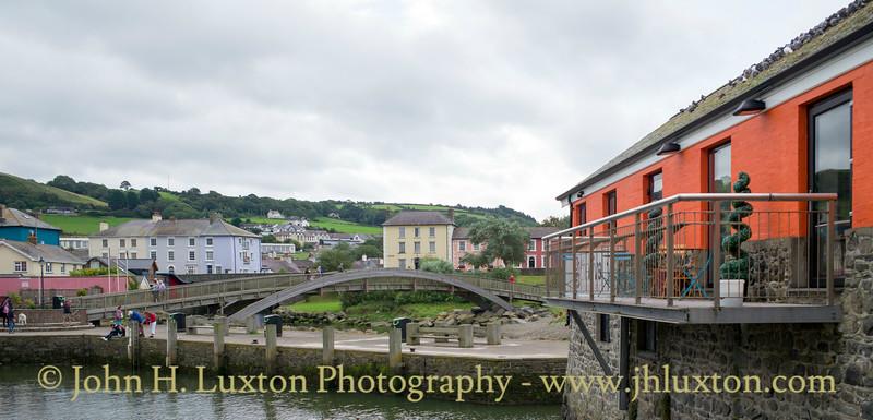 Aberaeron, Ceredigion, Wales - August 14, 2017